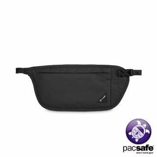 【Pacsafe】COVERSAFE V100 RFID貼身腰掛暗袋(黑色)