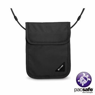 【Pacsafe】COVERSAFE X75 RFID 安全貼身掛頸暗袋(黑色)