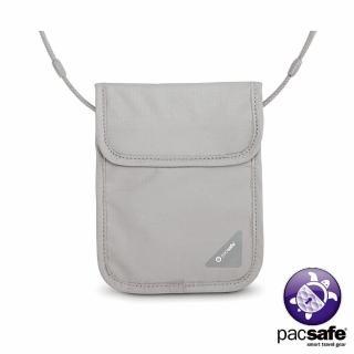【Pacsafe】COVERSAFE X75 RFID 安全貼身掛頸暗袋(灰色)