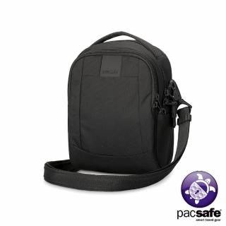 【Pacsafe】METROSAFE LS100 防盜單肩隨身包(3L 黑色)