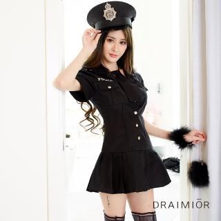 【久慕雅黛】誘惑女警察制服扮演套裝