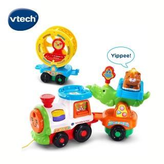 【Vtech】嘟嘟動物系列-動物火車組(動物火車組)