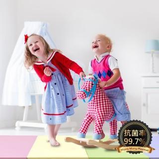 【Mang Mang 小鹿蔓蔓】兒童4cm摺疊地墊(四折200L款)