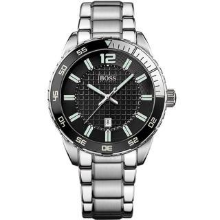 【Hugo Boss Black】衝速狂放運動腕錶(1512889)
