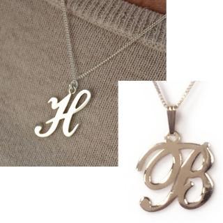 【Anna Lou Of London】倫敦品牌 B 個性字母項鍊 銀(絕版品 售完不補)