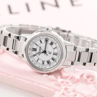【CITIZEN】電波藍寶鈦時尚光動能腕錶-銀(EC1140-51A)