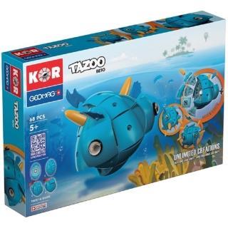 【GEOMAG 瑞士智美高磁力玩具】百變魔術蛋 - 貝托BETO(變形磁力球)