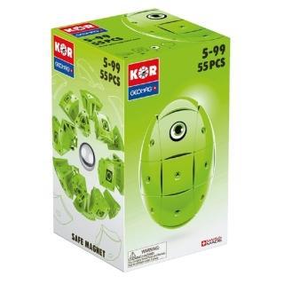 【GEOMAG 瑞士智美高磁力玩具】初級百變魔術蛋 - 綠(變形磁力球)