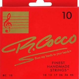 【Richard Cocco】RC10 電吉他套弦(義大利製頂級手工製弦)