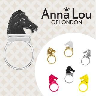 【Anna Lou Of London】倫敦品牌 立體小馬戒指 黑色(絕版品 售完不補)