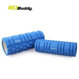 【MDBuddy】按摩滾輪套組-有氧 塑身 健身 按摩滾輪(隨機)