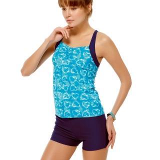 【沙兒斯】泳裝兩件式藍色系二截女泳裝(B92618)