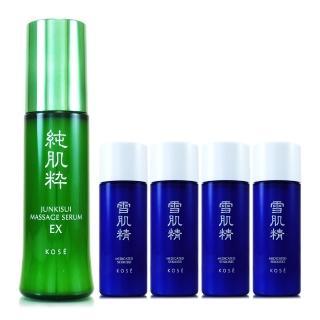 【KOSE高絲】雪肌精化妝水+乳液-經典淨白超值組(緋櫻限定版)