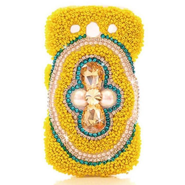 【Aztec】三星 S3-I9300珠彩熱情水鑽保護殼