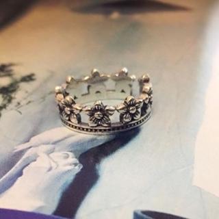 【米蘭精品】戒指流行銀飾品(梅花造型時尚復古百搭七夕情人節生日禮物73ae172)