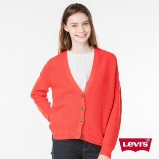 【Levis】修身針織外套 / 鈕扣 / 素面