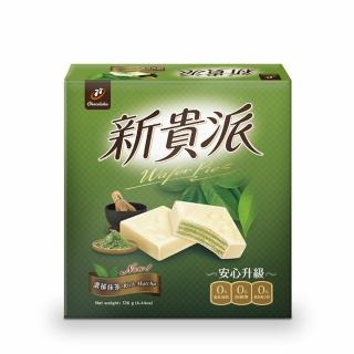 【宏亞食品】77新貴派綠茶(18入)