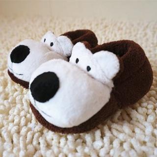 【媽咪可兒】3D立體動物造型保暖室內鞋/保暖鞋襪/襪套/地板襪(小熊)