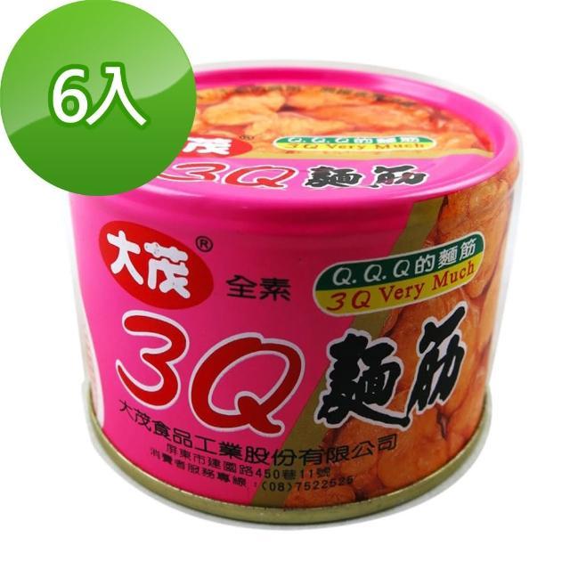 【大茂】3Q麵筋-鐵罐(170g-6)