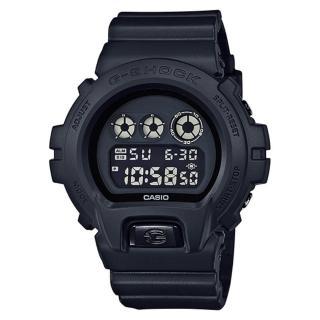 【CASIO】G-SHOCK 特勤黑金軍方運動錶(DW-6900BB-1)