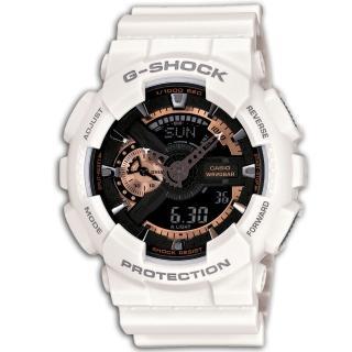 【CASIO】G-SHOCK玫瑰金齒輪概念錶(GA-110RG-7)