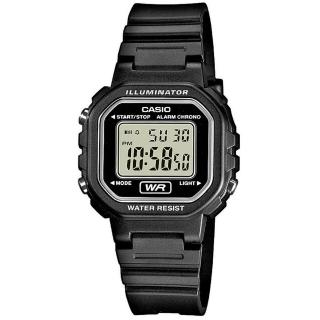 【CASIO】小巧方形復古數位錶(LA-20WH-1A)