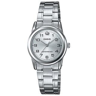 【CASIO】經典淑女時裝數字指針腕錶(LTP-V001D-7B)