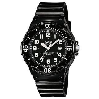【CASIO】運動潛水風格腕錶(LRW-200H-1B)