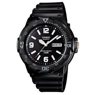 【CASIO】潛水風DIVER LOOK系列錶(MRW-200H-1B2)