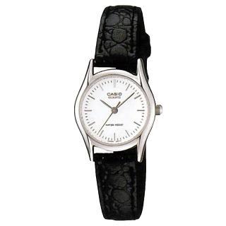 【CASIO】簡約鱷紋質感腕錶(LTP-1094E-7A)