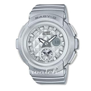 【CASIO卡西歐BABY-G系列】甜美個性_鉚釘設計_耐衝擊構造_防水_女錶(BGA-195)