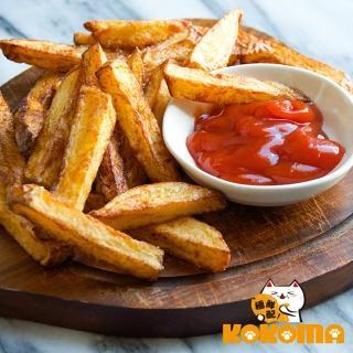 【極鮮配】帶皮原塊調味薯條(300g±10%/包-10包)   極鮮配