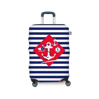 【BG Berlin】行李箱套-航海風情  L(適用26-29吋行李箱)