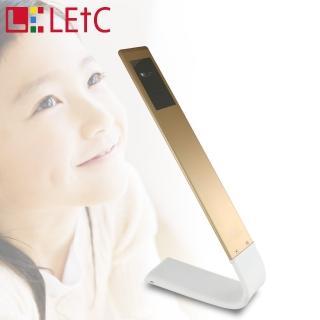 【LETC】無線觸控護眼LED檯燈(奢華金)