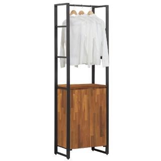 【AT HOME】韋伯2.3尺雙門單吊衣櫃