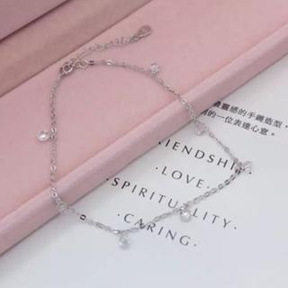 【米蘭精品】腳鍊流行銀飾品(閃耀迷人鑽石造型生日情人節禮物73do24)