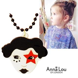 【Anna Lou Of London】倫敦品牌 Queen of England女皇徽章長鍊(絕版品 售完不補)