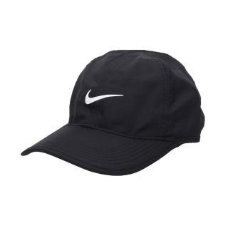 【NIKE】運動帽-帽子 鴨舌帽 慢跑 路跑 登山 防曬(黑白)