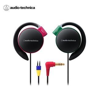 【鐵三角】ATH-EQ500 輕量薄型軟質耳掛式耳機-附捲線器