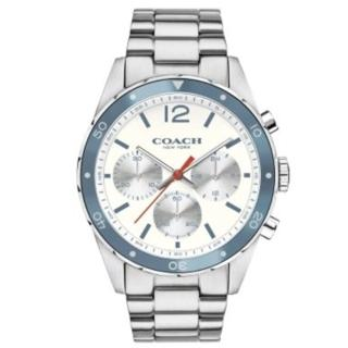 【COACH】經典計時紳仕腕錶/黑/44mm(14602085)