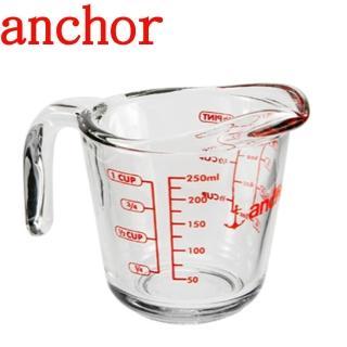 【美國Anchor】專業級強化玻璃量杯(250cc)