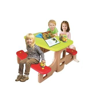 【HAENIM TOYS】兒童遊戲野餐桌椅