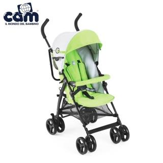 【義大利 CAM】輕便型嬰幼兒手推車(鮮綠)