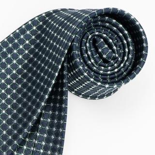 【極品西服】優質品味絲100%格紋領帶_籃底綠格(YT5020)