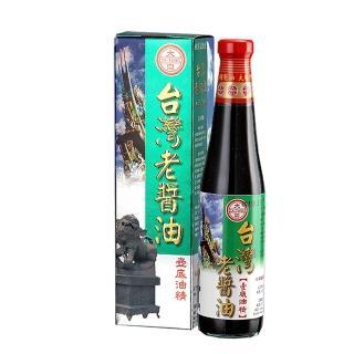 【西螺大同醬油】台灣老醬油壼底油精 400ml/瓶(手工粹釀180天)