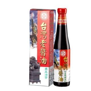 【西螺大同醬油】台灣老醬油壼底油膏 420ml/瓶(手工粹釀180天)