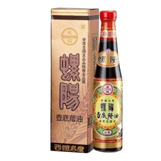【大同醬油】螺陽壼底蔭油膏 420g/瓶(手工粹釀180天)
