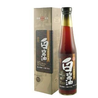 【大同醬油】大同壼底白醬油 400ml/瓶(手工粹釀180天)