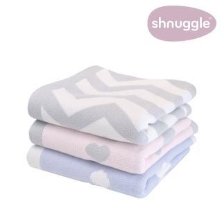 【英國Shnuggle】舒芙蕾寶寶毯-歐洲製頂級雙面針織(彌月禮首選)