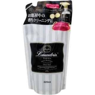 日本Laundrin'香水噴霧補充包-經典花香320mlX3入